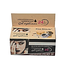 Gel Eyeliner & Eyebrow 2 in1, - 2 Packs