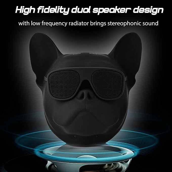 46158ffe7cd4 ... Cute Dog Bluetooth Speaker Portable Dog Shaped Stereo Sound Music  Player Bluetooth Wireless Speaker ...