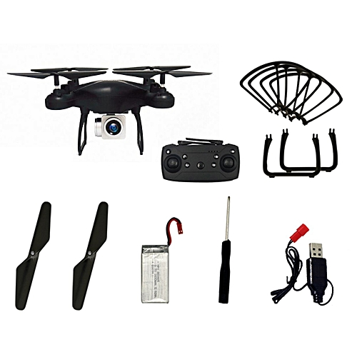 GB GW26 RC Drone 1080P HD Camera 4CH Long Time Flying Altitude Hold Quadcopter-black