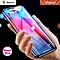 """Baseus Full Coverage 3D Case Friendly Tempered Glass for Apple iPhone XS Max 6.5"""" (Black) LJMALL"""