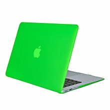 "11"" Air Case, Matt Hard Rubberized Cover For Macbook 11.6 Inch, Grass Green"