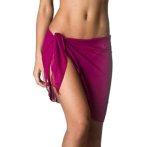 45e20ada4715b Coqueta Woman Swimwear Chiffon Cover up Beach Towel Sarong Pareo Canga  Swimsuit Wrap