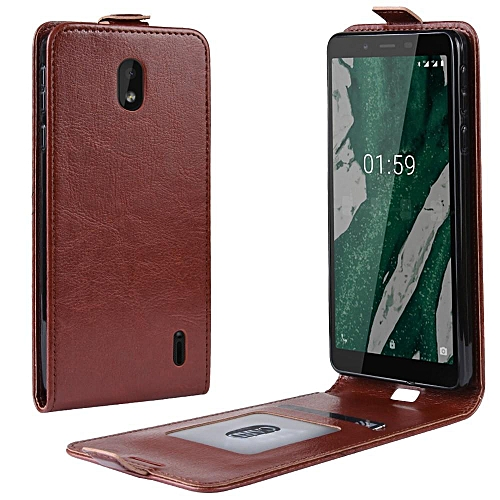 finest selection 8c692 4862f PU Leather Flip Cover Case for Nokia 1 Plus