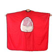 Salon Barbers Hairdressing Cape Gown with Viewing Window Hair Cutting Styling Perming Dyeing Apron