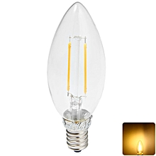 New Arrival YouOKLight E14 1.8W 2 x COB 180LM 3000K Edison Candle Bulbs LED Filament Light ( AC 220V ) WARM WHITE