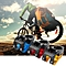 31.8mm Aluminum Alloy Mountain Bike Handlebar Stem - Red