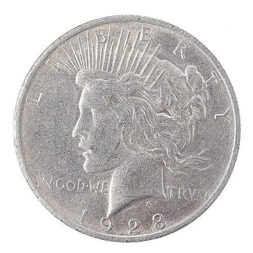 Silver Eagle Coin United States Of Liberty American Coins USA 1928 Collection