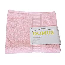 Face Towel - 400 GSM - 33cm x 33cm - Light Pink