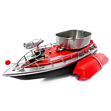 Flytec 3 Generations Electric Fishing Bait RC Boat 300m Remote Fish Finder With Searchlight Toys-Red