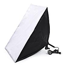 5070 Single Lamp Softbox US Plug - Black + White