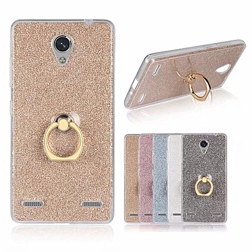 buy popular dbc79 b12c8 Metal Buckle Ring TPU Phone Cover Case for ZTE Blade A521