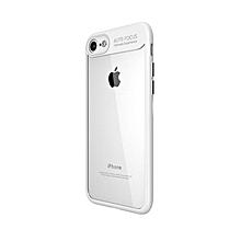 TPU silicone + transparent PC iPhone 6/6s Case White
