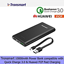 Tronsmart Presto PB-T10 10000mah Ultra-Compact Portable Quick Charge 3.0 and Huawei FCP fast charge Powerbank Power Bank QTG-W