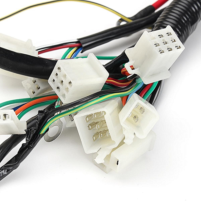 gy6 atv go kart electrical wire harness 150cc and 125cc 4-stroke gy6  engine