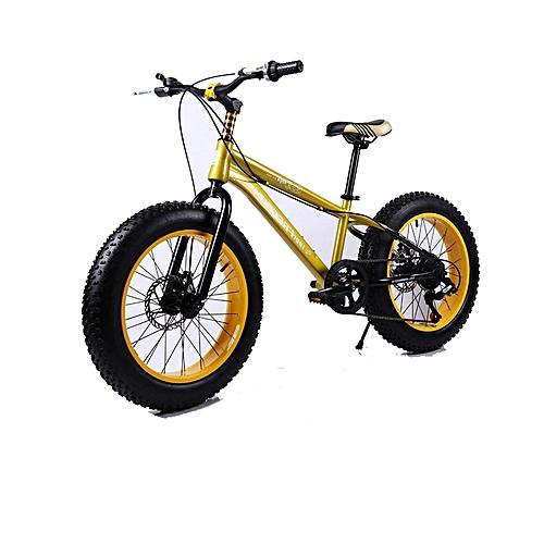 "Exercise Bike Jumia Kenya: Buy Love Freedom 16"" Yellow Fat Tire Mountain Bike @ Best"
