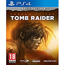 PS4 Game Shadow Of The Tomb Raider Croft Edition