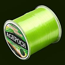7.0# 0.45mm 16.4kg Tension 500m Extra Strong Raw Silk Nylon Fishing Line (green)