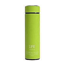 Vacuum Flask - 500ml - Green + Free Infuser inside!