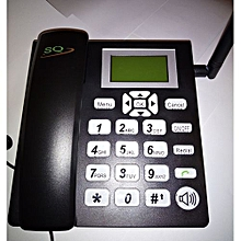 Desktop Wireless Telephone GSM Fixed Phone Support 2 SIM Card  for House Home Call Center Office Company Hotel