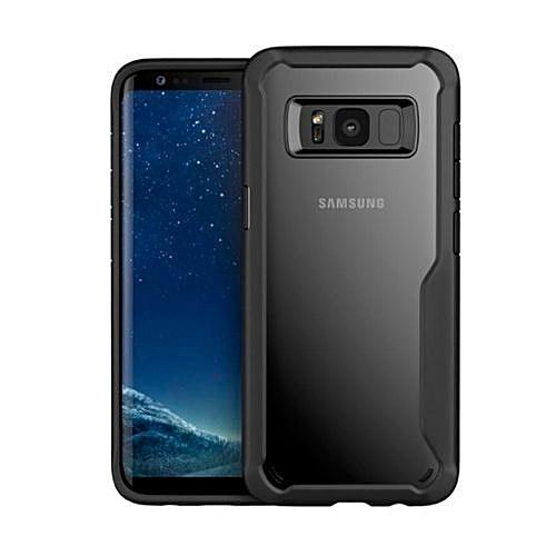 new style 38b68 39175 Galaxy S8 Plus Anti-drop TPU Hybrid Case Back Cover