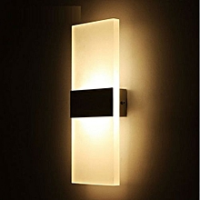LED Wall Lamp Bed-light Personal Ultra-thin Pathway Lamp with Rectangle Shape