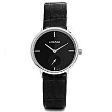brand 061 women watches water quartz watch leather strap stainless steel ultra thin dial couples boys girls watches