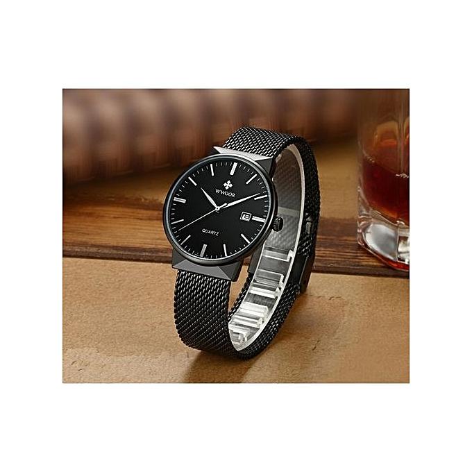 2cdc2586842 Relogio Masculino Mens Watches Top Brand Luxury Fashion Business Quartz  Watch Men Sport Full Steel Waterproof