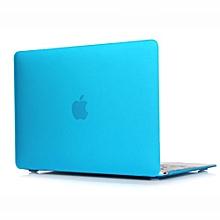 "For 12"" Macbook Case, Matt Hard Rubberized Cover For A1534 Macbook 12 Inch, Light Blue"