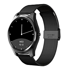 """DI03 - 1.3"""" Smart Watch For Android/IOS 128MB/64MB Steel Band 200mAh - Black"""