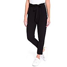 Black Female Trousers