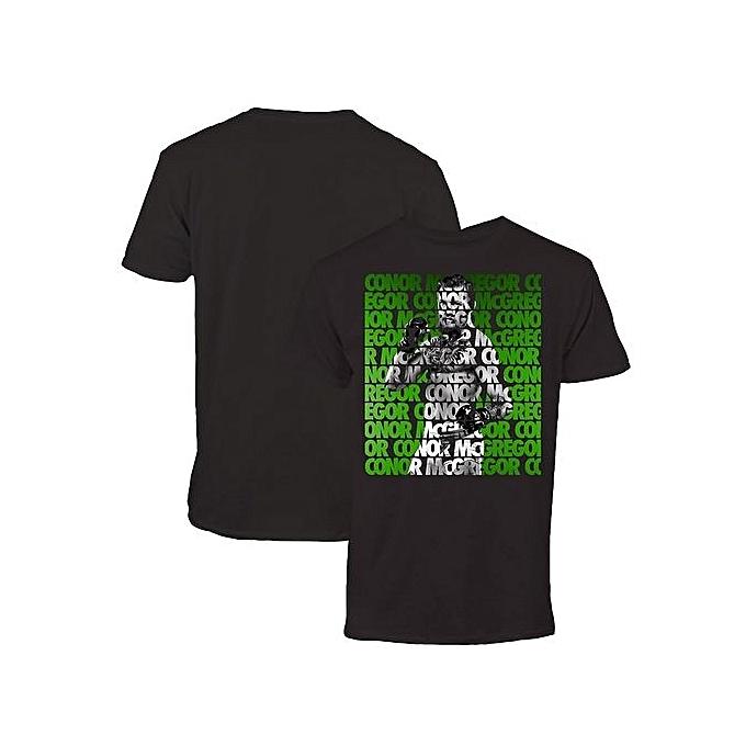 0d28868c846a Custom Funny T Shirts UFC Conor McGregor Repeat T-Shirt Short Sleeve Men's  Casual T