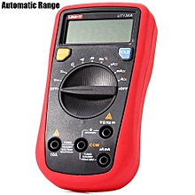 UNI-T UT136A Handheld LCD Digital Multimeter AC and DC Current / Voltage Tester Automatic Range