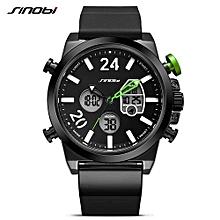brand sport wirstwatch relogio masculino males leather watchband watches causal japan quartz clock mens military watches