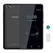 F1 - 5''- Dual SIM -8GB Rom , 8MP Camera , 2000mAh Battery - Elegant Black + Free Proctive Case