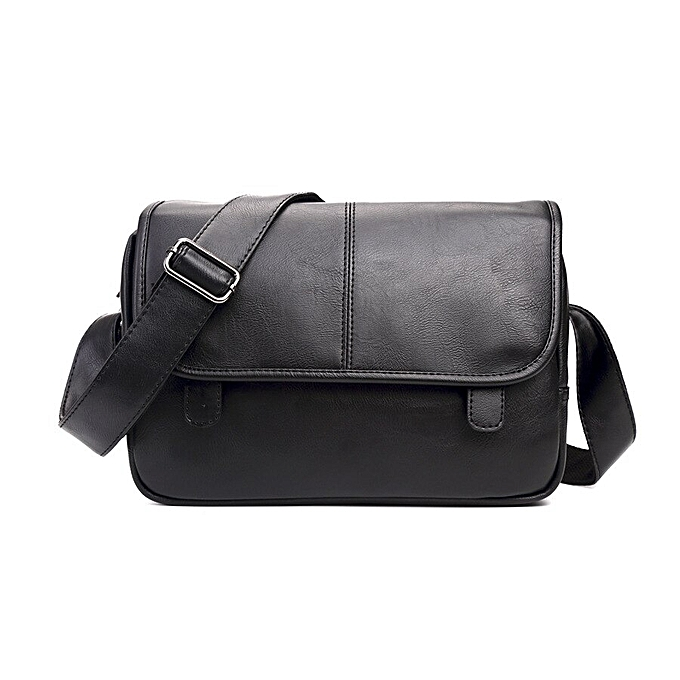 526aa6a7a62 Wholesale Price Good Quality men's Messenger Bags Pu Leather Travel Bag  Luxury Pretty Style Shoulder Bags Drop Shipping(black)