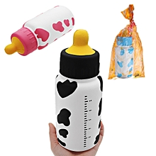 Huge Milk Nursing Bottle Squishy 25*9.5*9.5CM Giant Slow Rising With Packaging Soft Toy-Pink