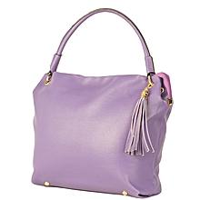 Purple Satchel Bag