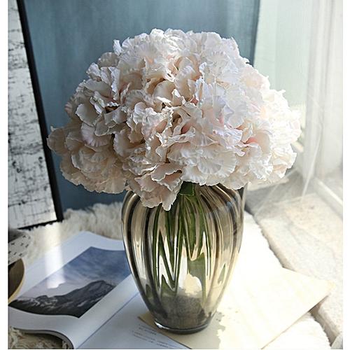 Allwin Artificial Silk Fake Flowers Hydrangea Peony Bridal Bouquet