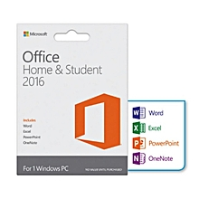 Office Home & student 2016 for PC Africa