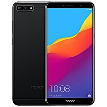 Honor 7A AUM-AL00, 2GB+32GB, 5.7 inch EMUI 8.0 (Android 8.0) Octa Core 4G Face Identification Smartphone - Black
