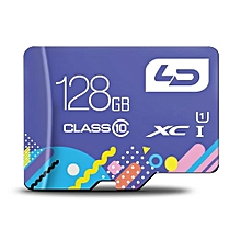 LD Colorful Edition 128GB Micro SDHC Memory Card Data Storage Device-COLORMIX