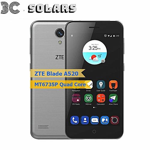 ZTE Blade A520 Smartphone 1GB+8GB 5 0 inch Quad Core Android 6 0 Dual SIM  8MP Cellphone
