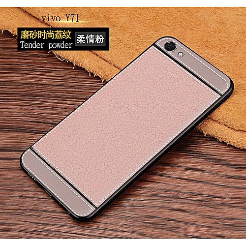brand new 1e49e 40fe2 Luxury Soft Case For VIVO Y71 Leather Plating Full Cover