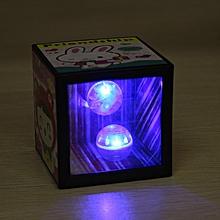 Money Saving Box Coin Disappear Flashing Balls Magic Box Prop-