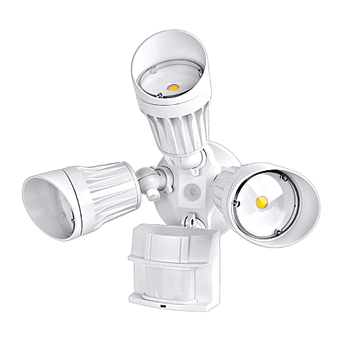 AC110-130V 54W 108 LED Wall Mount Flood Light Spot Lamp PIR Motion Sensor  Detector Adopted Sensitive Human Infrared Induction Technology Adjustable