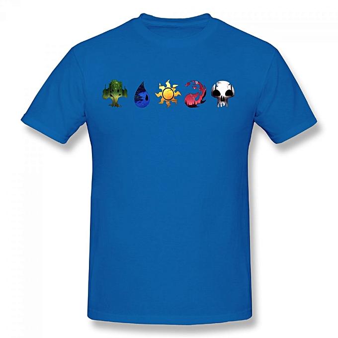 Buy Generic Magic The Gathering Symbols Mens Cotton Short Sleeve
