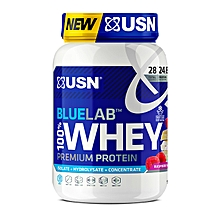 Blue Lab 100% Whey Protein - 908g - Raspberry White Chocolate