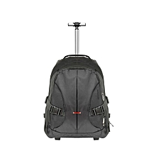 """Rover-TR TROLLEY BAG: Black Versatile Trolley Bag with Adjustable Handle for Laptops up to 15.6"""""""
