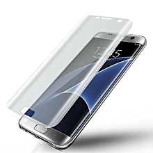 Genuine Full Coverage Tempered Glass Film Protector For Samsung Galaxy S7 Edge-Clear
