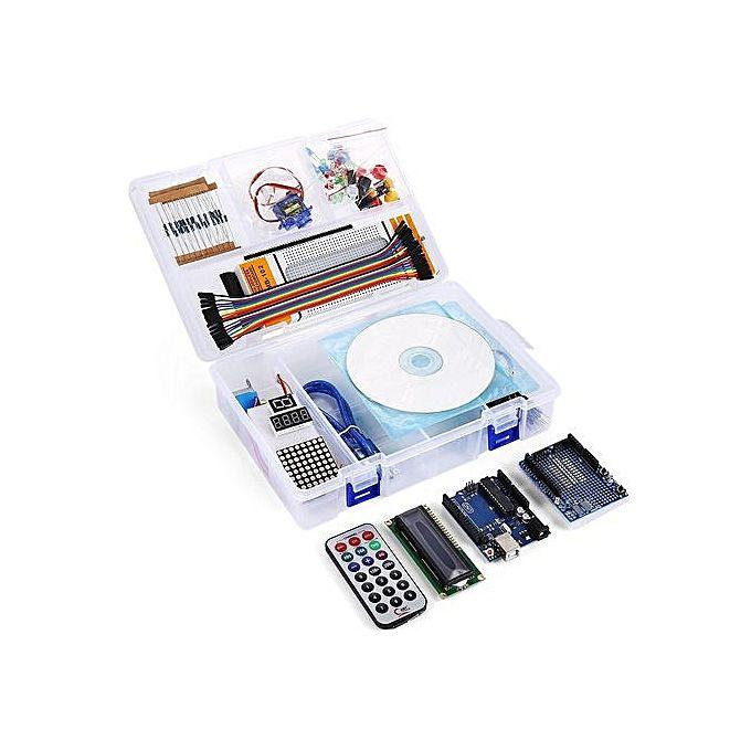 Generic uno r starter kit for arduino beginner white
